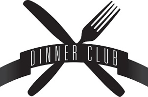 Image result for dinner club clipart