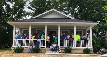 Habitat for Humanity Dedication