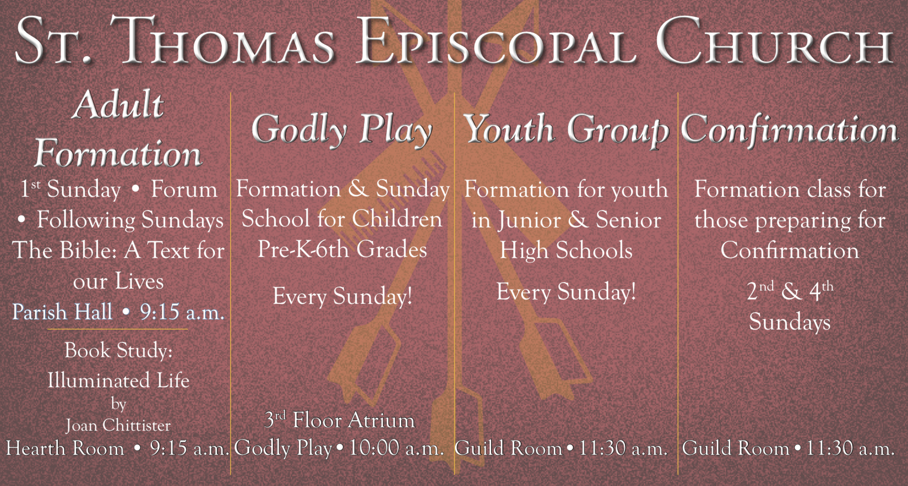 Sunday Formation Poster Image